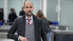 Pep Guardiola se encuentra de viaje a Buenos Aires aprovechando el parón
