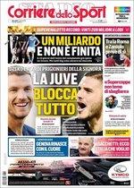 Portada de Il Corriere dello Sport del 14 de agosto