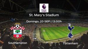 Previa del partido de la jornada 2: Southampton - Tottenham Hotspur