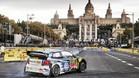 El Rally ha empezado esta tarde con un espectacular tramo urbano
