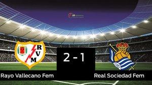 El Rayo Vallecano gana a la Real Sociedad en la Ciudad Deportiva Fundación Rayo Vallecano
