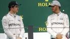 Rosberg-Hamilton, el título en juego
