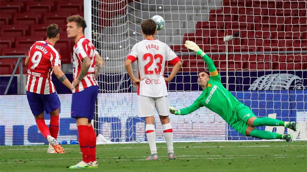 ¡A la segunda! Como ante el Barça, el Atlético tuvo una segunda oportunidad...