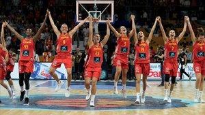 La Selección Española femenina durante el pasado Mundial
