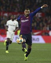 Sevilla FC, 2 - FC Barcelona, 0, Kevin Boateng debutó en Copa del Rey.