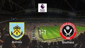 El Sheffield Utd consigue un empate a uno ante el Burnley