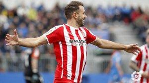 Stuani no descansará tampoco en Gijón
