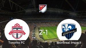 El Toronto FC se impone por 2-1 al Montreal Impact