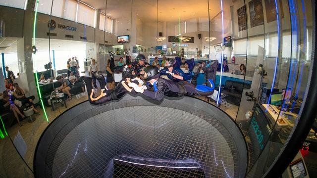 El túnel de viento de Empuriabrava bate un Guinness World Record