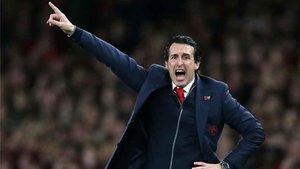 Unai Emery busca su primer triunfo en el Camp Nou