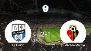 La Unión se hace fuerte en casa y consigue vencer al Ciudad de Murcia (2-1)