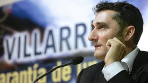 Valverde fue entrenador del Villarreal en la temporada 2009-10
