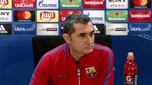 Valverde se muestra cauto con el planteamiento que presentará ante el Chelsea