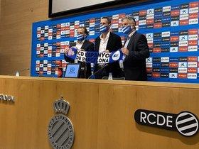Vicente Moreno ha sido presentado por el Espanyol