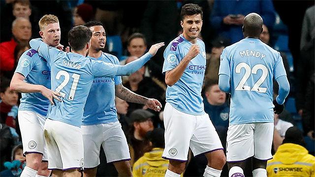 Victoria del Manchester City al West Ham