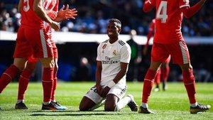 Vinicius es una de las imágenes de este Real Madrid