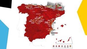 La Vuelta tendrá ocho finales en alto