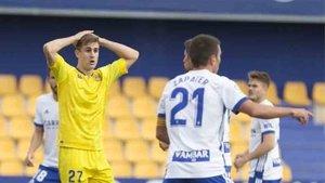 El Zaragoza perdió el invicto luego de caer ante el Málaga en la última jornada