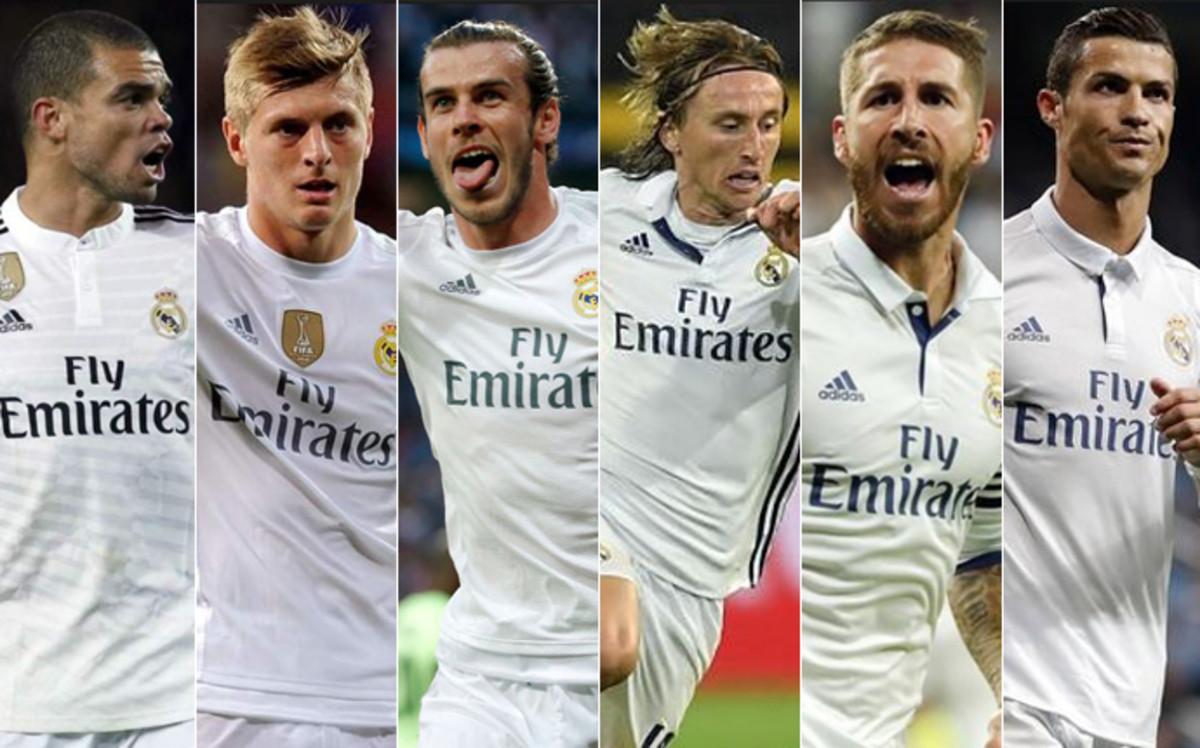 Seis futbolistas del Real Madrid entre los nominados al Balón de Oro 8e30cbcb0ae27