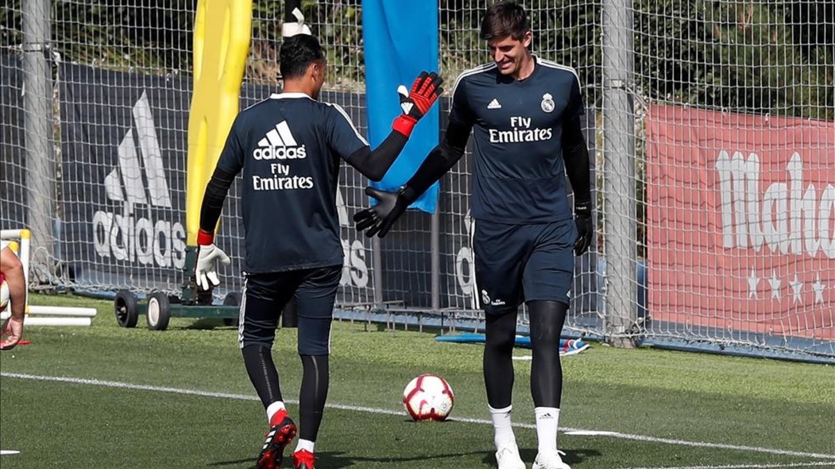 Real Madrid To Seal Getafe S Faith: Thibaut Courtois Put On The Bench Again By Real Madrid