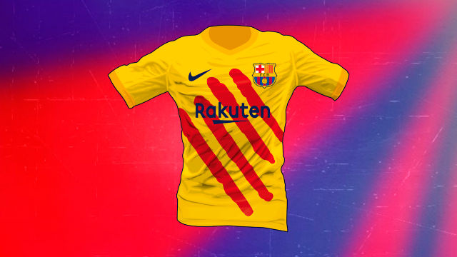 641733541c0 Exclusive: Barca's new FOURTH kit for next season