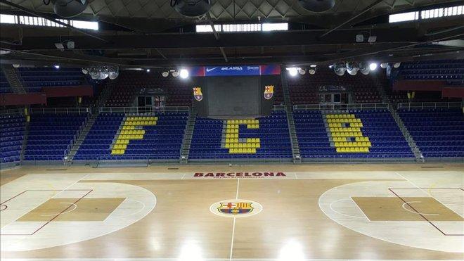 El Joventut-Tofas Bursa de Eurocup se jugará en el....Palau Blaugrana