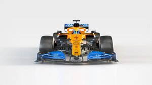 Azul y papaya, los colores de McLaren en 2020
