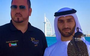 Baiata con el Sheik Amru de Dubai