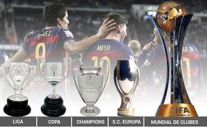 El Barça, a la conquista del repóker
