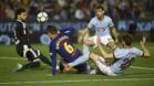 El Barça no pasó del empate en Balaídos