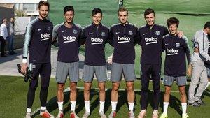 El Barça sigue preparando el duelo ante el Sevilla