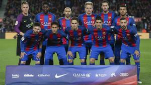 El FC Barcelona aspiraba a firmar una gesta histórica ante el PSG