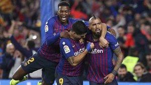 El Barcelona fue superior al Real Madrid