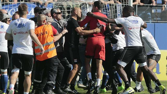 En Bastia volvió a haber incidentes