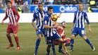 Cánticos ofensivos en el Alavés-Atlético