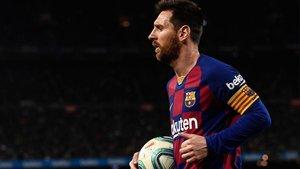 El capitán del Barça, Leo Messi.