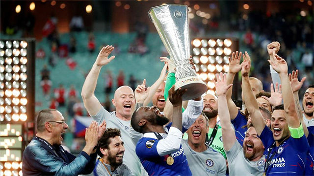 El Chelsea arrolla al Arsenal para coronarse campeón de la Europa League