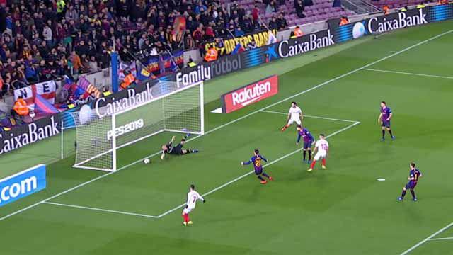 Cillessen demostró que es el mejor portero suplente de la historia del Barça