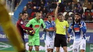 La decisión de Undiano perjudicó, y mucho, al Espanyol