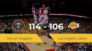 Denver Nuggets gana a Los Angeles Lakers (114-106)