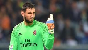 Donnarumma termina contrato con el Milan en junio de 2018