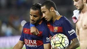 Douglas y Neymar son ejemplos de la cara y la cruz del mercado brasileño