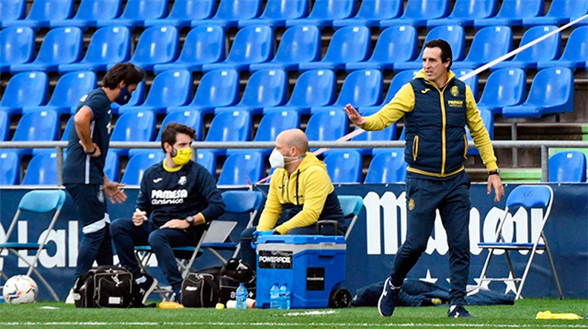 Emery contra su bestia blanca, el Real Madrid