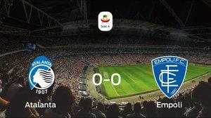 Empate, 0-0, entre el Atalanta y el Empoli