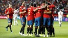 España ganó sin problemas a las Islas Feroe