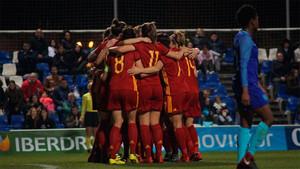 España superó en un gran partido a Holanda