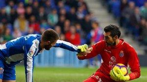 El Espanyol cerró su meta de nuevo ante el Leganés.