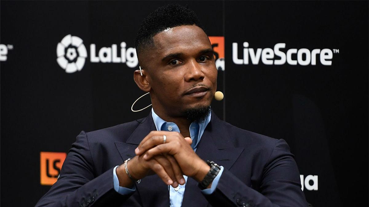 Etoo: Ficharía a Mbappé y Moukoko para el Barcelona