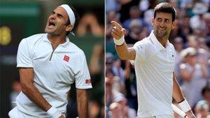 Federer y Djokovic, otra cita con la historia del tenis