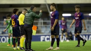 García Pimienta se mostró satisfecho por la victoria